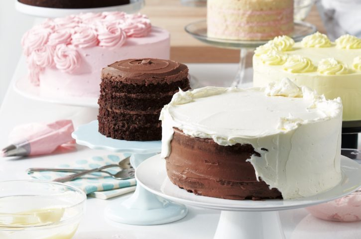 What to see in a cake baker?